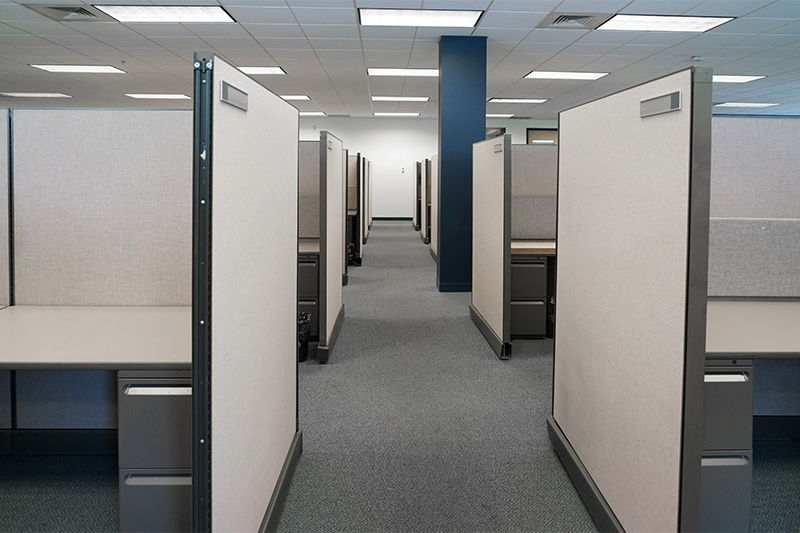 cubicles wall partition installation
