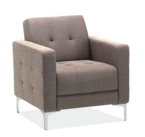 draper collection retro club chair 1