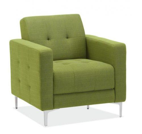 draper collection retro club chair 6