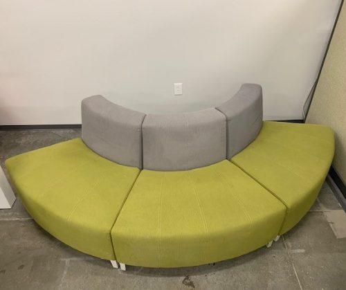 grey green cushioned seating 11