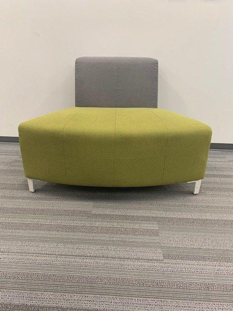 grey green cushioned seating 3