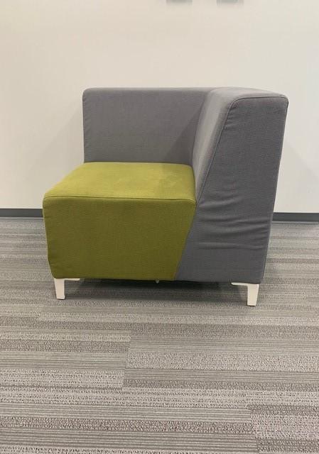 grey green cushioned seating 6