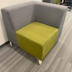 grey green cushioned seating 8