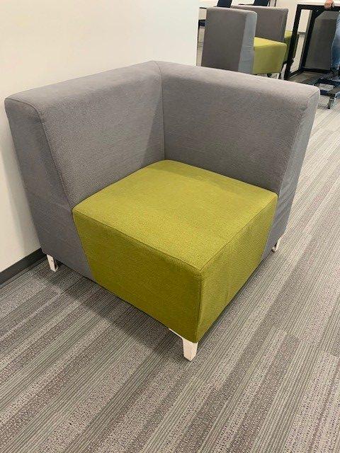 grey green cushioned seating 8