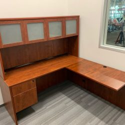 l shaped desk with hutch 2