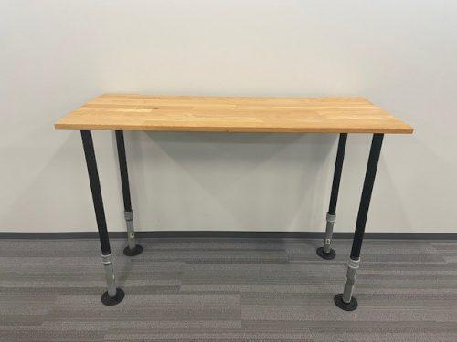 maple desk pipe legs 2