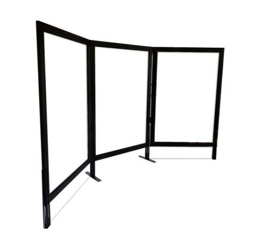 safeguard barrier collection clear acrylic desk top screen 4