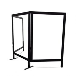 safeguard barrier collection clear acrylic optional screen 1