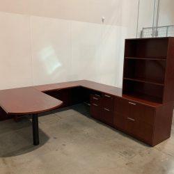 steelcase u desk 1