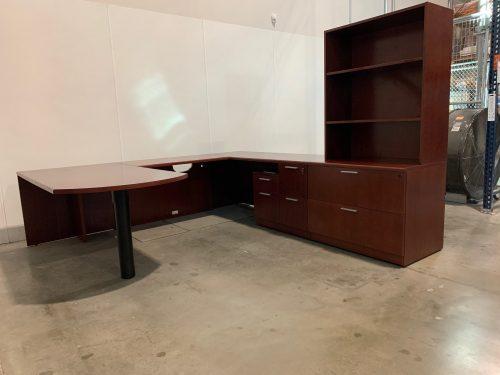 steelcase u desk 2