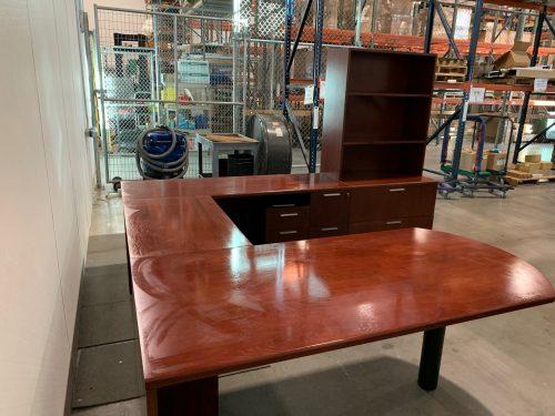 steelcase u desk 3