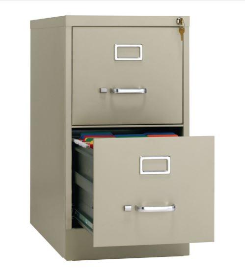 vertical file 2 drawer 5