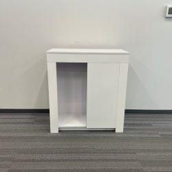 white storage cabinet 1